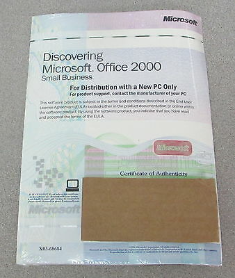Microsoft Office 2000 Small Business New