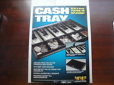 """Mmf Industries Cash Drawer Tray With Keys 16""""x11-1/2 New In Box #2252862C04"""