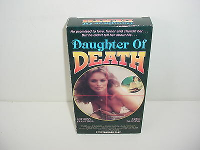 Daughter Of Death VHS Video Tape Movie Sybil Danning