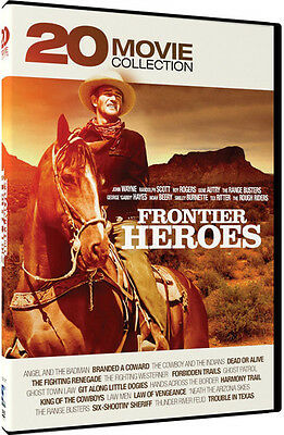 Frontier Heroes: 20 Movie Collection - 4 DISC SET (2016, REGION 1 DVD New)