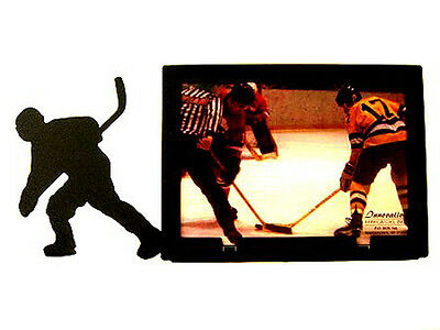 "Hockey Picture Frame 3.5""x5"" - 3""x5"" H #2"