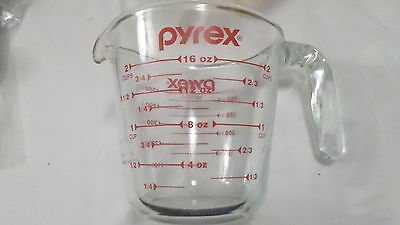 Vintage Pyrex 2 Cup Metric Ounce Glass Measuring Cup