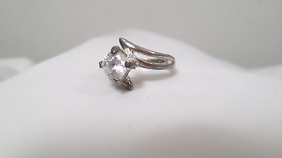 Vintage Costume Jewelry Engagement Cocktail Ring Size 6