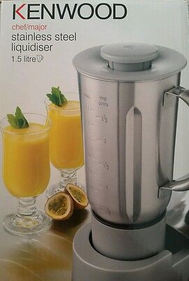 KENWOOD Chef Major Sense Vitamiser liquidiser blender attachment AT339 RRP $189