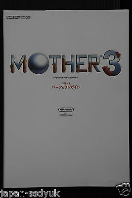 Mother 3 EarthBound 2 Perfect Guide nintendo book OOP