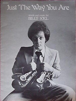 Billy Joel Sheet Music, 1977 - Just The Way You Are