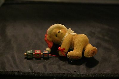"""1996 cherished teddies Jolene """"Dropping You A Holiday Greeting"""""""