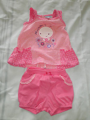 Brand New  Girls 2 Piece Outfit By Yatsi Naissance Top And Shorts