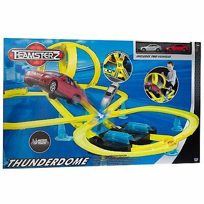 Brand New THUNDERDOME Track Set ~ Car Racing Toy LARGE SET