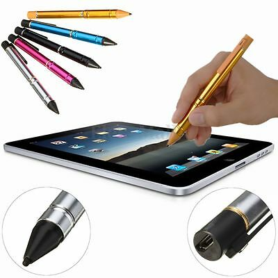 Aktive Kapazitive Stylus Pen Eingabestift+USB Kabel Für Handy iPhone ipad Tablet