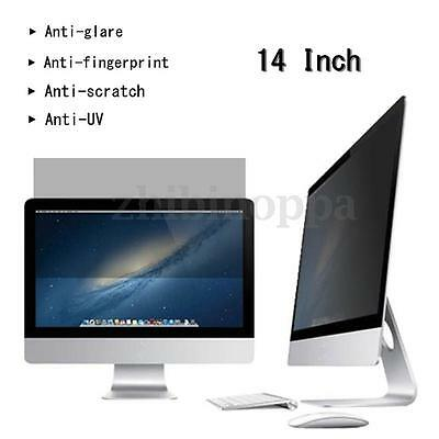 14'' 16:9 Privacy Screen Protector Film Laptop Notebook Cover Guard HOT