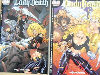 Comic  - Lady Death - Gottlose Wege - Chaos