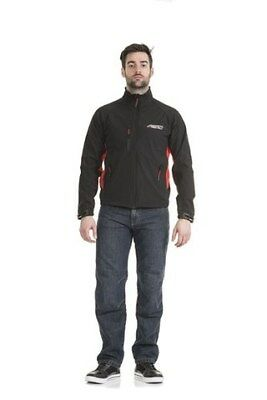 Rst Race Dept 0022 Lightweight Windproof Motorcycle Casual Paddock Jacket Black