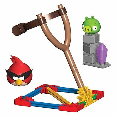 K'Nex Angry Birds Space Super Red Bird Vs Small Minion Pig Building Set Ages 5+
