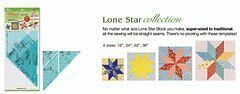 Clover Trace n Create Quilt Templates (Lone Star)
