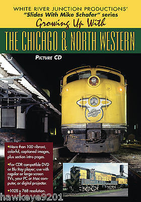 Growing Up With Chicago & North Western photo CD by Mike Schafer
