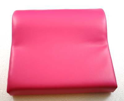 Deluxe Bright Pink Contour Vinyl Tanning Bed Pillow