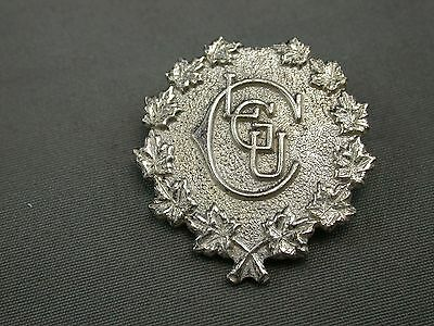 Canadian Ladies Golf Union CLGU  Sterling Silver Pin Trophy Craft Beauty