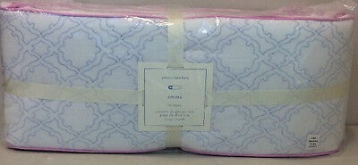 NIP Pottery Barn Kids Baby Lavender BROOKLYN Nursery Crib Bumper Pad