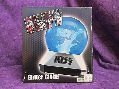 Kiss Glitter Globe Still In Box Spencer 2003