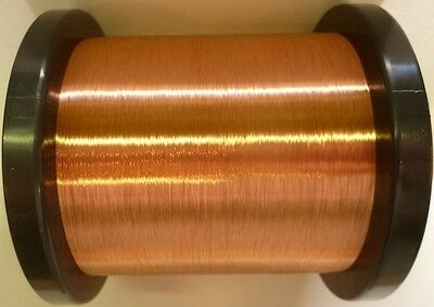 0.090mm - ENAMELLED COPPER GUITAR PICKUP WIRE, MAGNET WIRE, COIL WIRE - 1500g