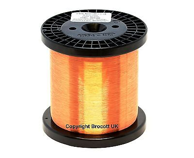 42Awg Enamelled Copper Guitar Pickup Wire, Magnet Wire, Coil Wire -500G Spool
