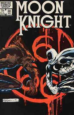 MOON KNIGHT #30 FINE (1st series 1980)