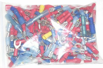 Assorted Small Electrical Wire Connectors 8 oz Bag