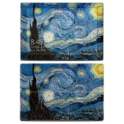 Surface 3 Skin - Starry Night by Vincent van Gogh - Sticker Decal