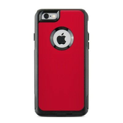 Skin for Otterbox Commuter iPhone 6/6S - Solid Red - Sticker Decal