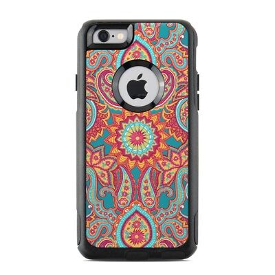 Skin for Otterbox Commuter iPhone 6/6S - Carnival Paisley - Sticker Decal