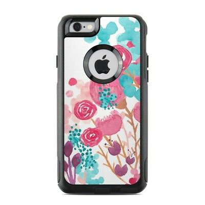 Skin for Otterbox Commuter iPhone 6/6S - Blush Blossoms - Sticker Decal