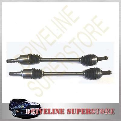 TWO FRONT CV JOINT DRIVE SHAFTS for IMPREZA FORESTER YEAR FROM 2004-2007