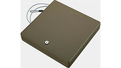 Large Portable Security Case with Key Lock in Sand by Stack-On PC-125K-S