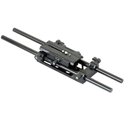 Proaim 15mm Rail system Rod support Quick Release for t3i fx1 gh1 t2i Camera