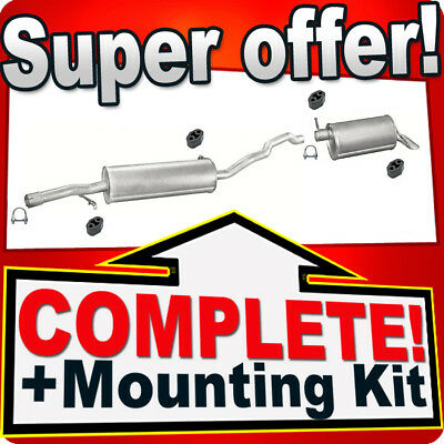 FORD GALAXY I 2.3 Silencer Exhaust System 934A