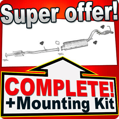 Mitsubishi L200 2.5 TD 4WD 100HP 1996-2007 Silencer Exhaust System 932