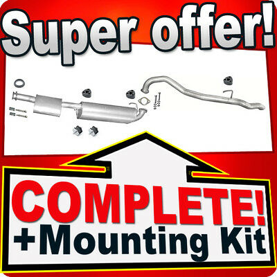 mounting kit VAUXHALL FRONTERA A 2.0 SWB 92-95 Full exhaust from CAT