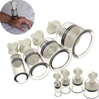 Vacuum Twist Rotary Cupping Set Nipple Enlargement NO Pump Suction Enlarger New