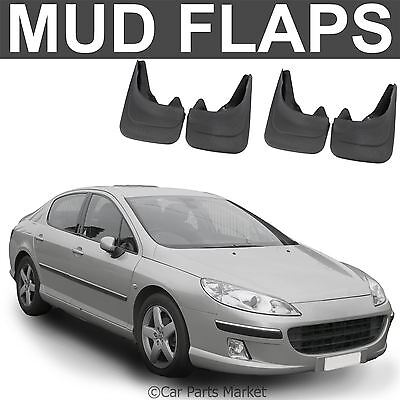 Mud Flaps Splash guard for Peugeot 407 mudguard set of 4x front and rear