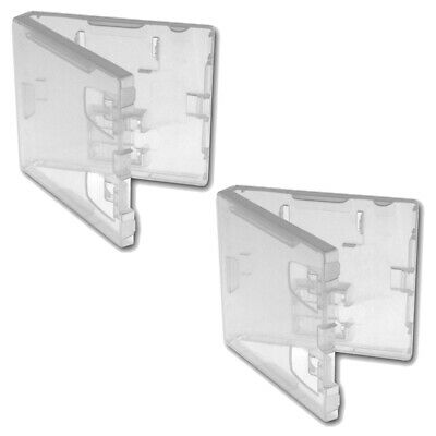 Game case for DS Nintendo & GBA retail compatible ZedLabz - 2 pack clear