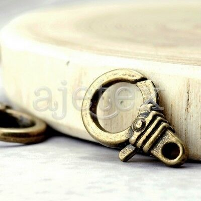 15* wholesale DIY Lobster Claw Clasp antique TS4233-4