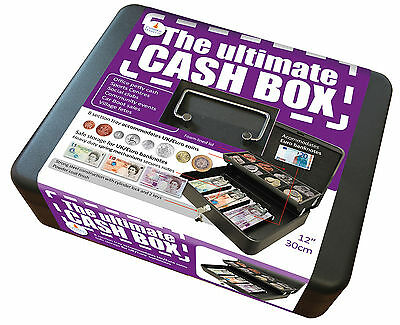 Ultimate Cash Box Holds All UK Coins and Notes
