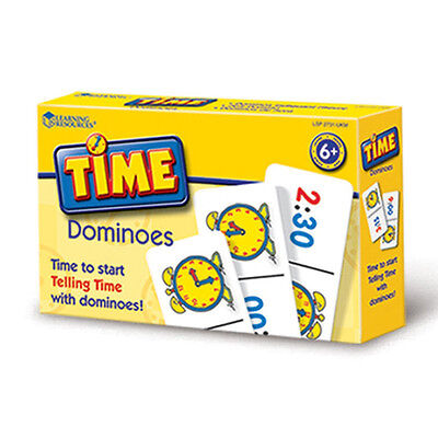 Learning Resources Time Dominoes NEW