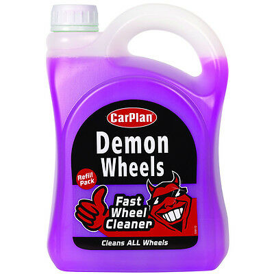 Carplan Demon Wheels Fast Wheel Cleaner Car Cleaning Valeting Road Dirt 2 Litre