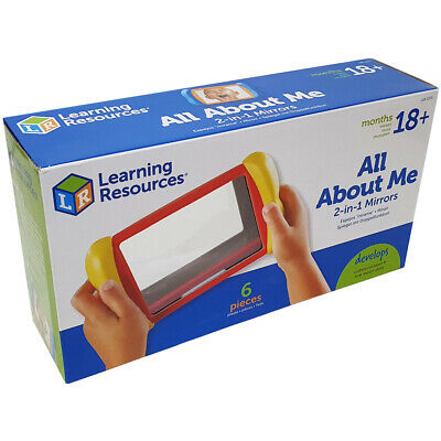 Learning Resources All About Me 2-in-1 Mirrors NEW