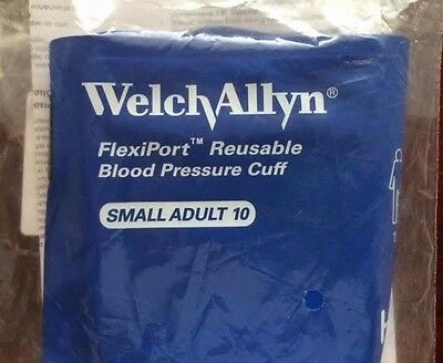 Welch Allyn Reusable BP Cuff Small Adult (Size 10) #REUSE-10-1SC NEW/SEALED