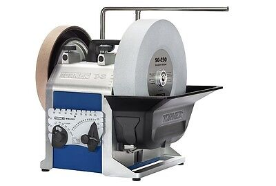 TORMEK T-8 Sharpening System with Chef's Package -includes Knife & Scissors Jigs
