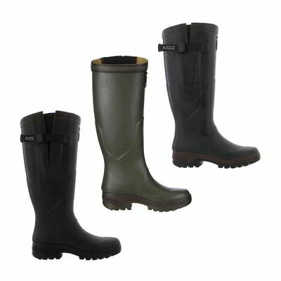 Aigle Parcours 2 Vario Wellington Boots Mens Womens Adjustable Boots Size 4-11