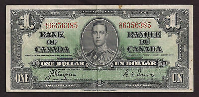 Bank Of Canada 1937 1 Dollar - 385